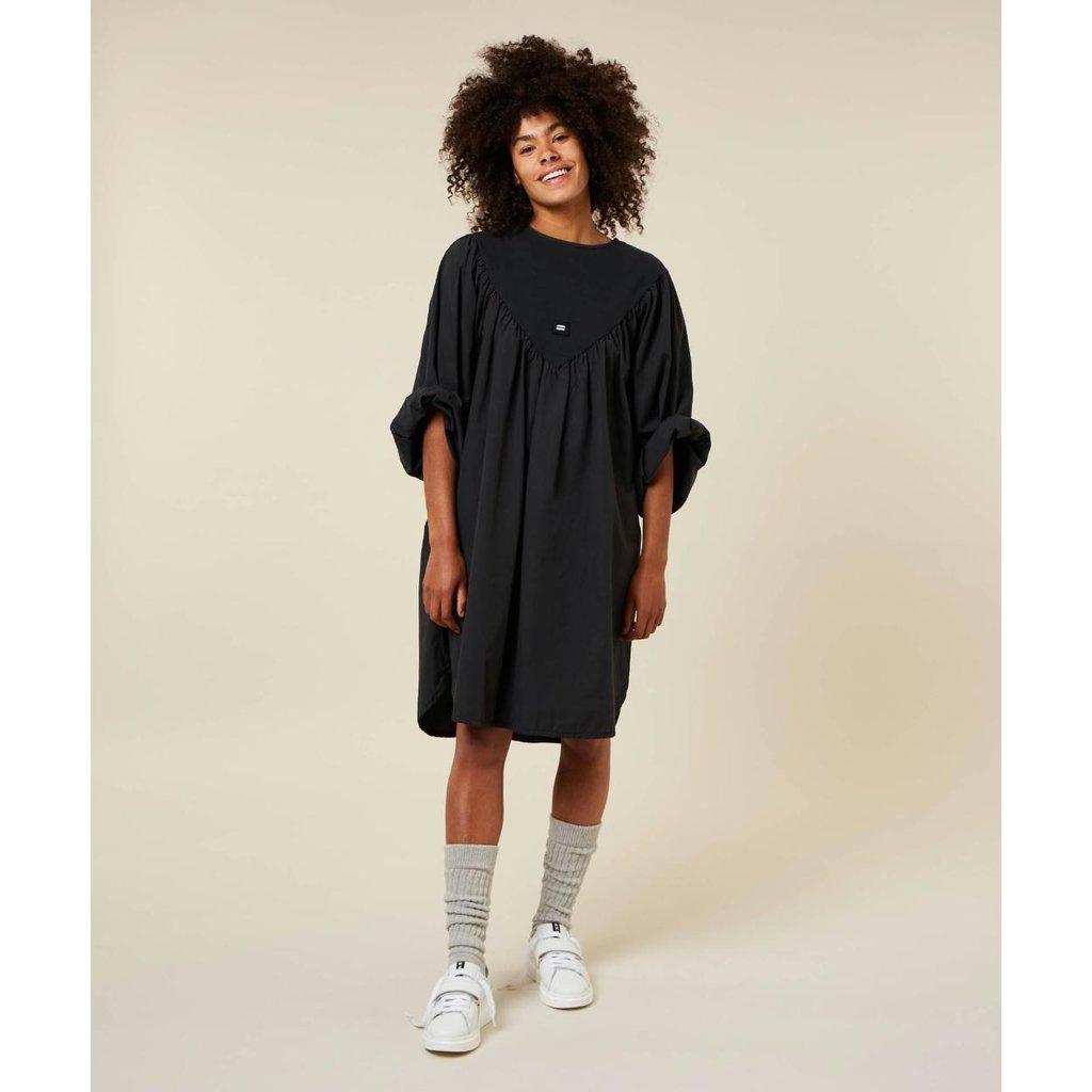 10Days Almost Black a-line dress 20-333-1203