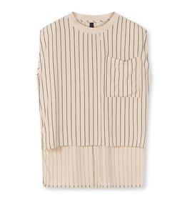 10Days 10Days Cement padded top pinstripe 20-462-1203