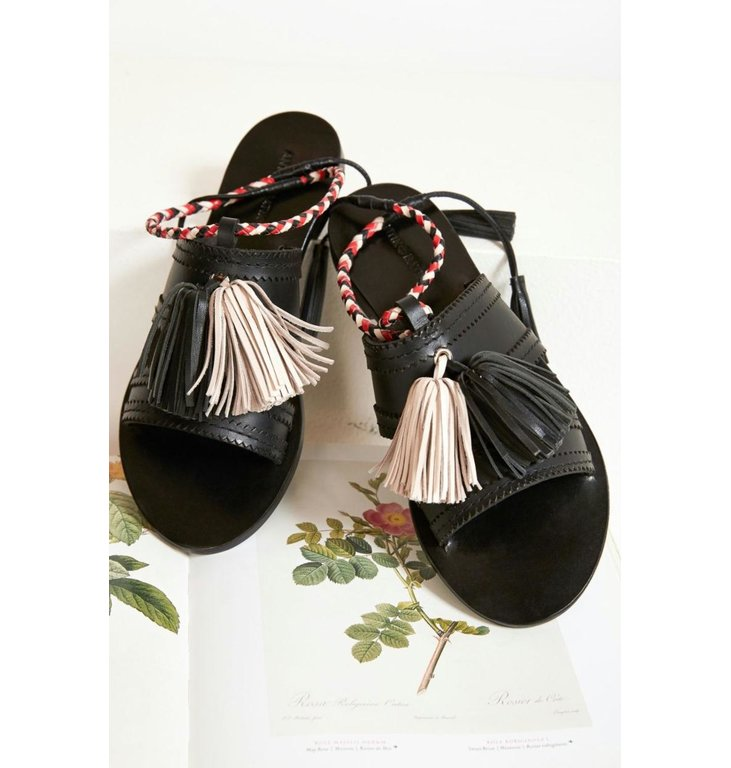 Antik Batik Antik Batik Black Sandal Youri