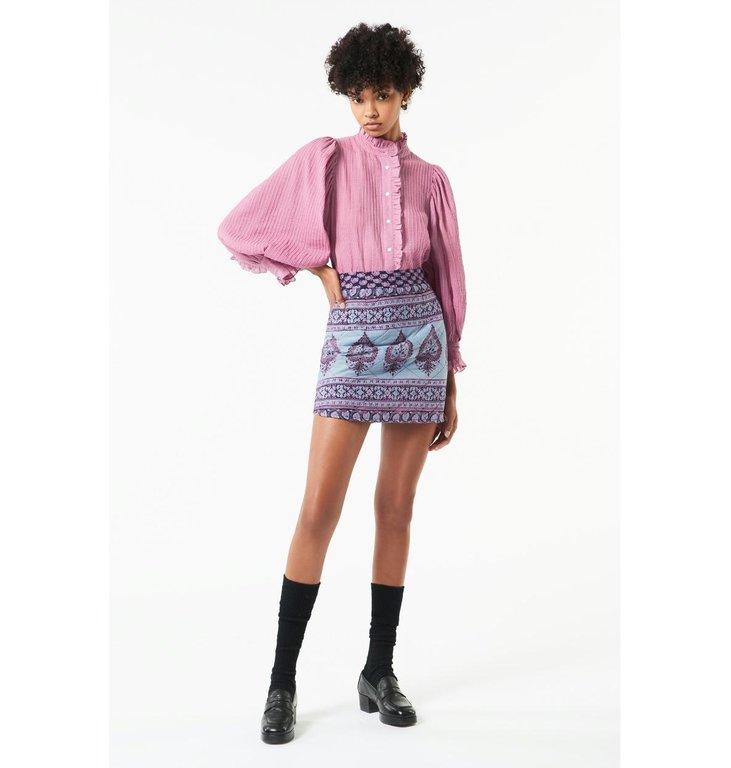 Antik Batik Antik Batik Pink Blouse Yvette