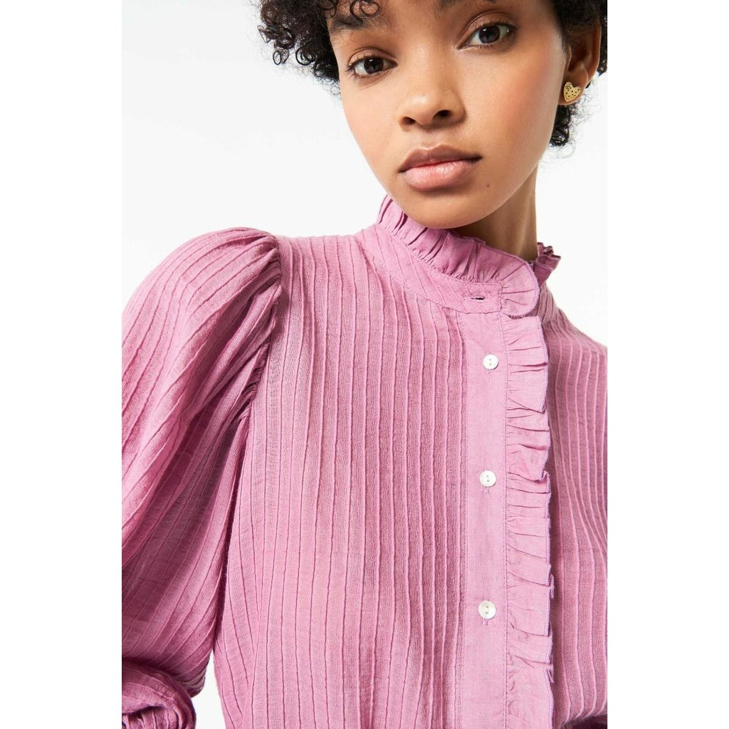 Antik Batik Pink Blouse Yvette