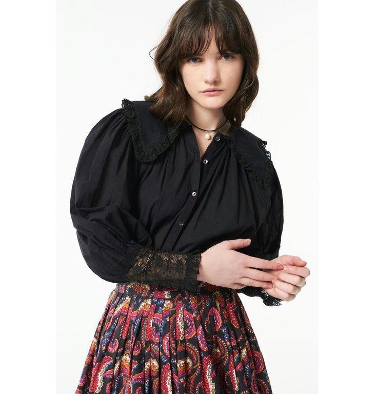 Antik Batik Antik Batik Black Blouse Aramis