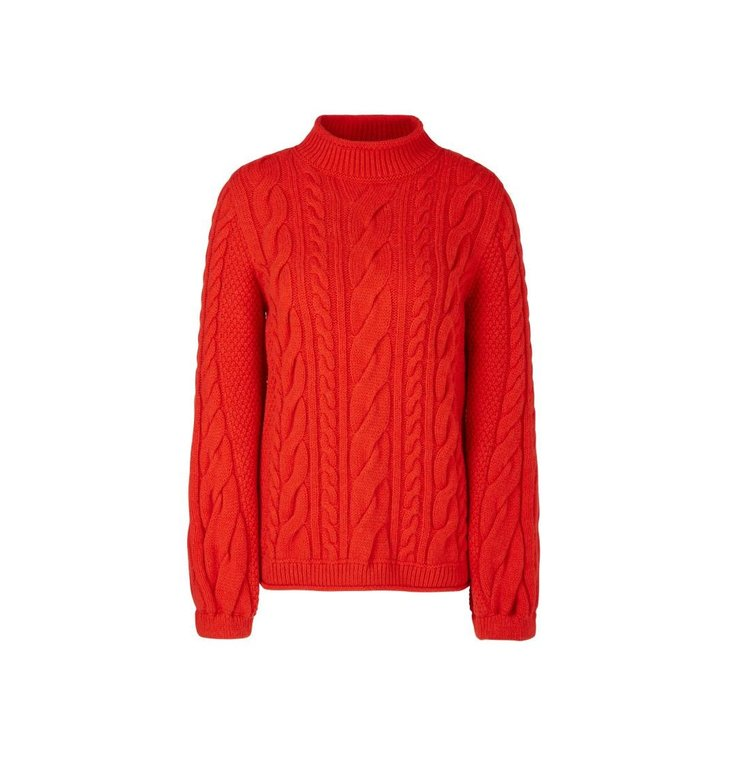 Marc Cain Marc Cain Red Knit RC4130-M18