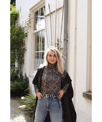 Leopard Coll met Zadig & Voltaire Vest