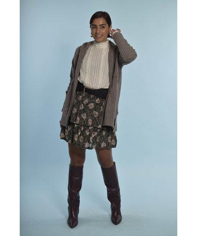 Berenice Paris look met een heerlijke grijze cardigan