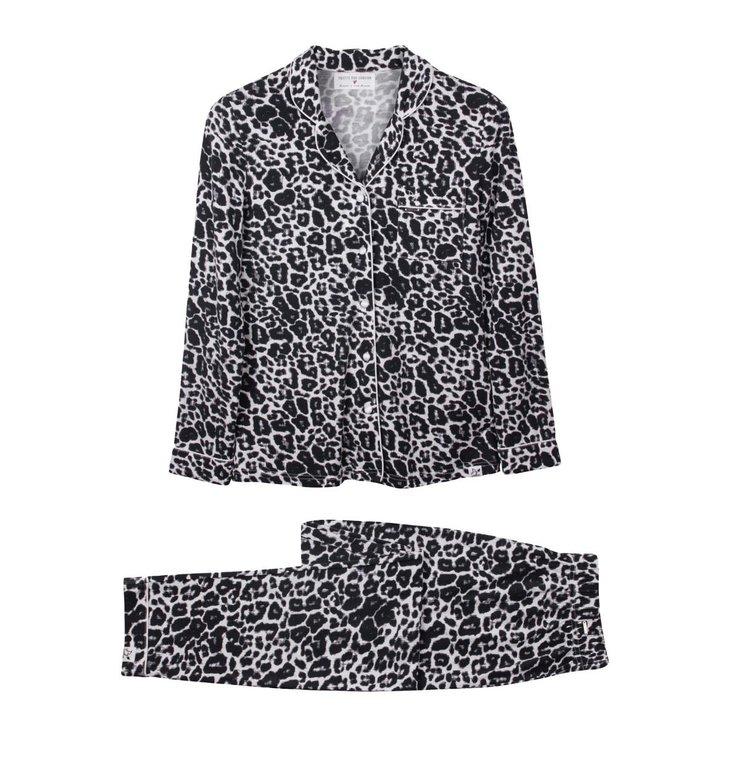 Pretty You London Pretty You London Leopard Pyjama Bamboo Pyjama Set