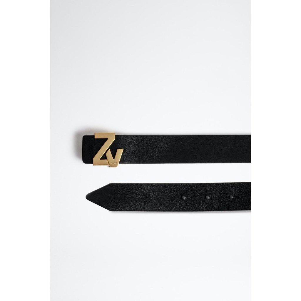 Zadig & Voltaire Black Belt ZV Initiale LA