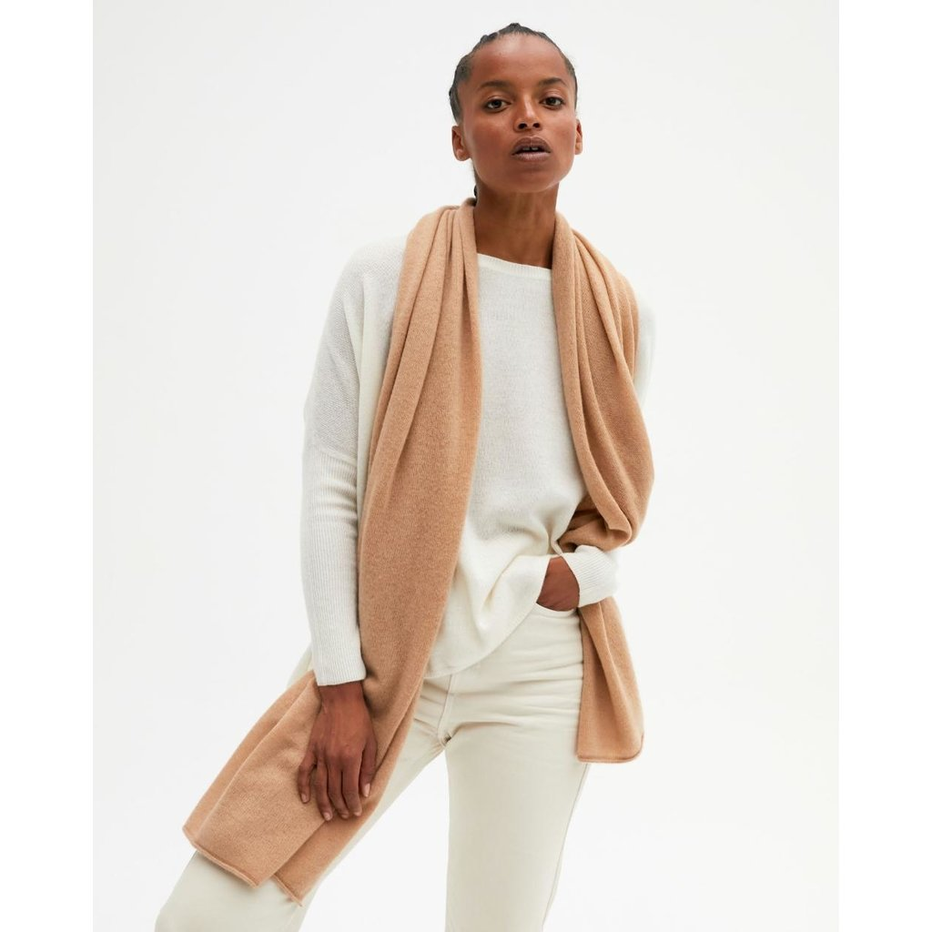 Absolut Cashmere Camel Anais sjaal AC122000C