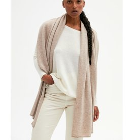 Absolut Cashmere Absolut Cashmere Taupe Anais sjaal AC122000C