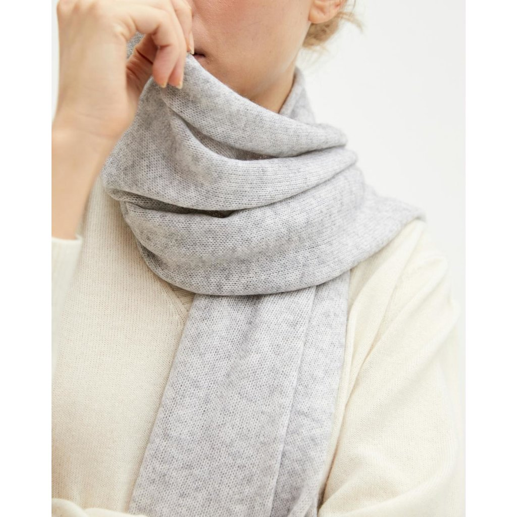 Absolut Cashmere Grey Anais sjaal AC122000C
