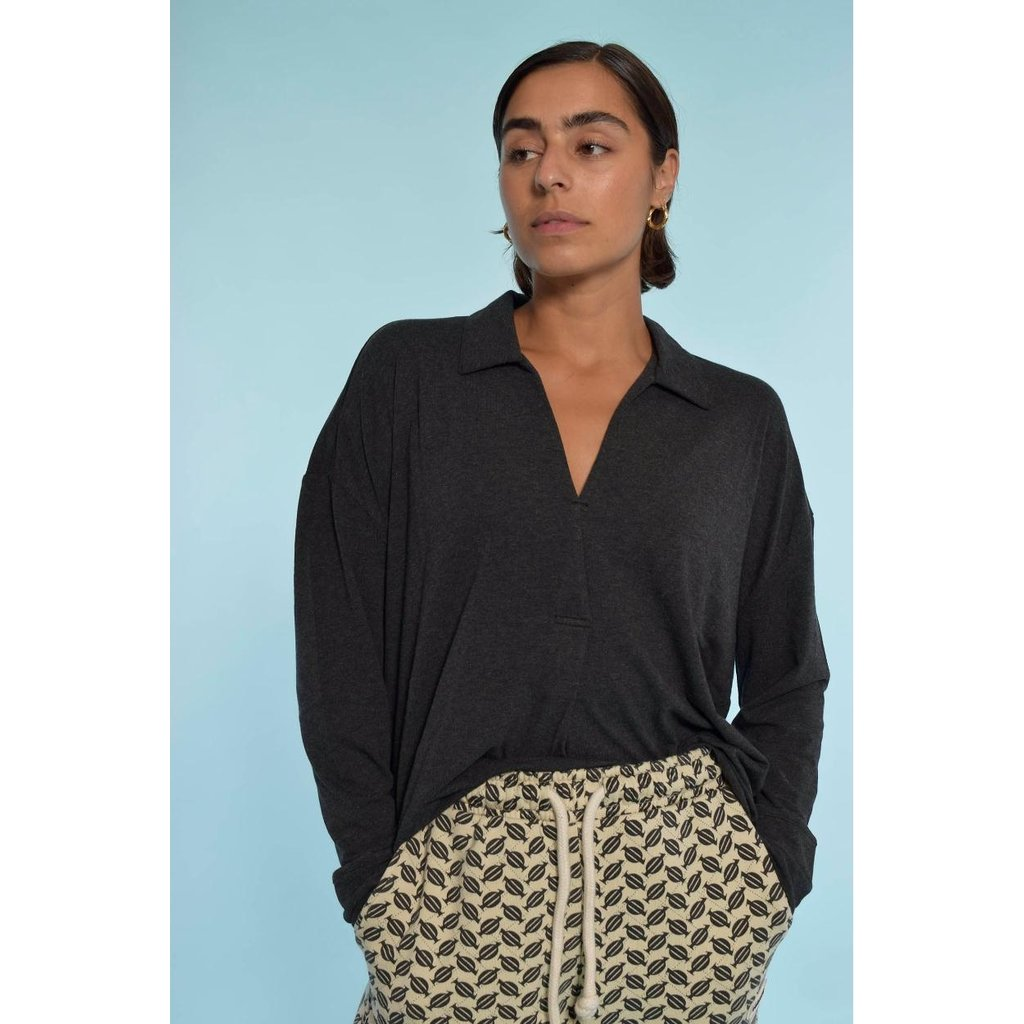 10Days Antra Melee soft blouse 20-771-1204