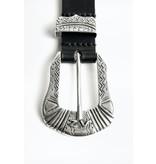 Zadig & Voltaire Black Belt Alton Smooth