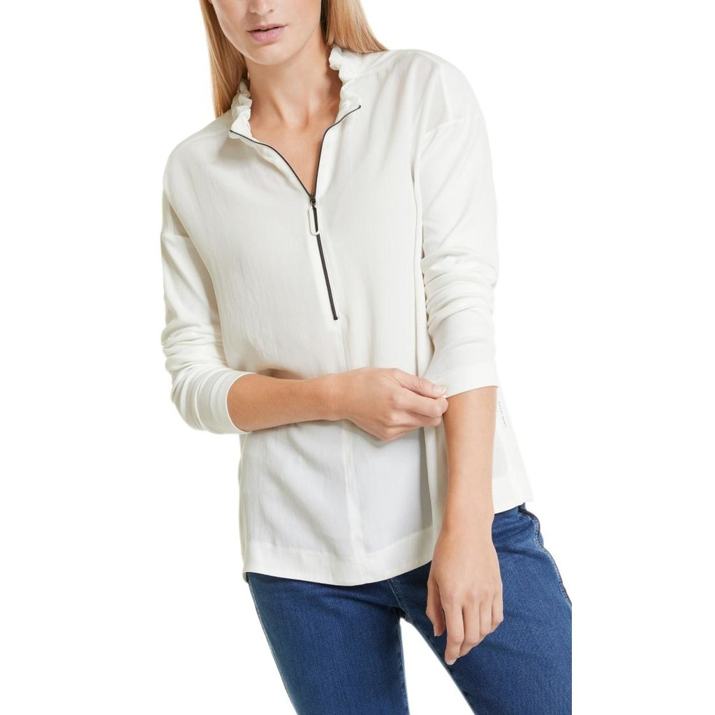 Marc Cain Off White Blouse RS5524-J67