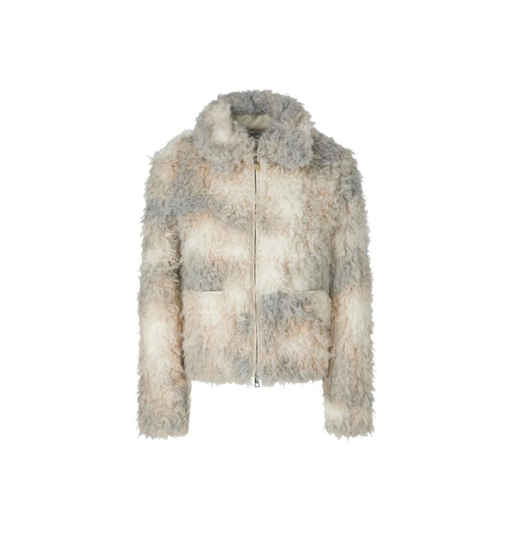 Marc Cain Marc Cain Silver Grey Jacket RC1209-W97