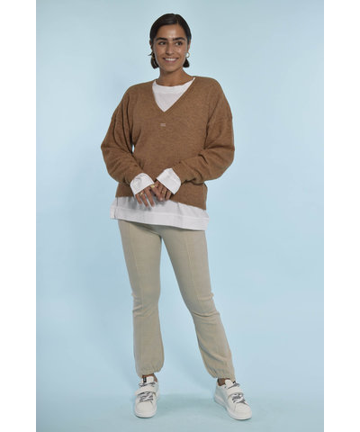 10Days comfy new white & camel look
