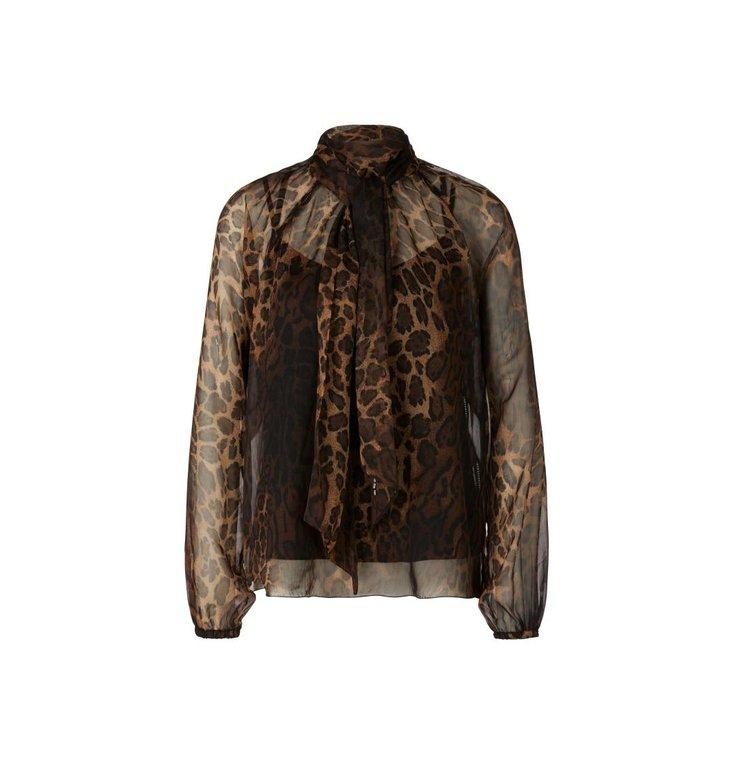Marc Cain Marc Cain Leopard Blouse RC5126-W36
