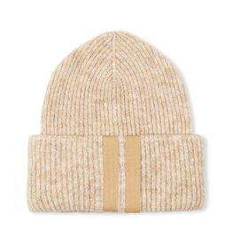 10Days 10Days Oatmeal soft knit beanie 20-696-1204