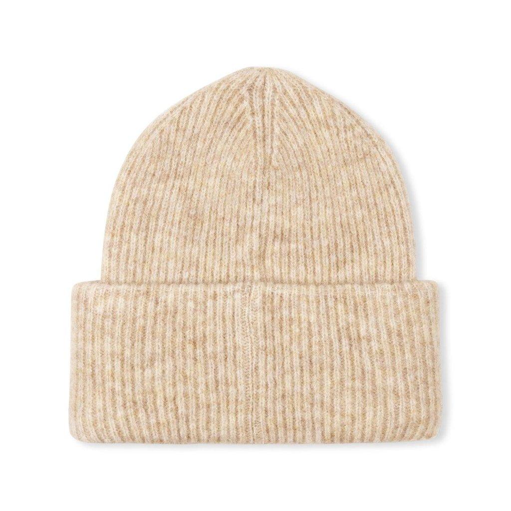 10Days Oatmeal soft knit beanie 20-696-1204