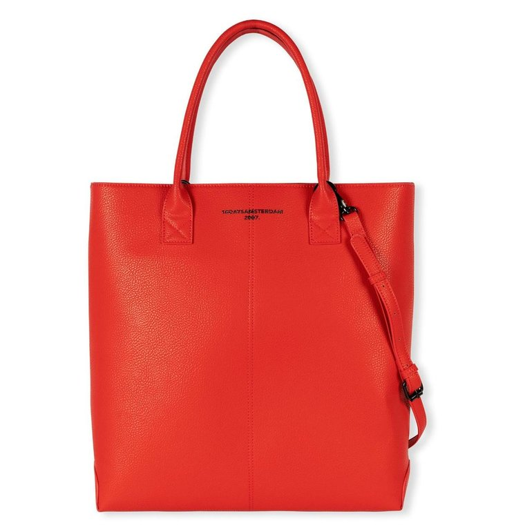 10Days 10Days Fluor Red the classic bag 20-960-1204