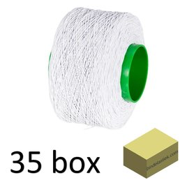 35 XL boxes elastic Binding String