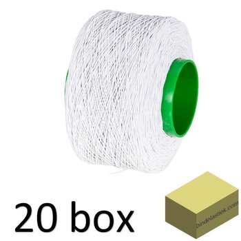 20 Standard-Boxen Elastic Binding String