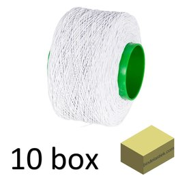 10 XL boxes elastic Binding String