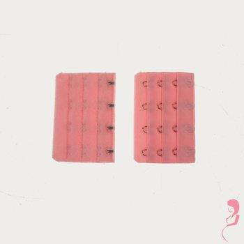 Op en Top Zwanger Beha Verlengstuk 4 Haaks Roze (per stuk)