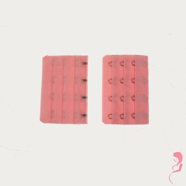 Op en Top Zwanger Beha Verlengstuk / Verlenger 4 Haaks Roze (per stuk