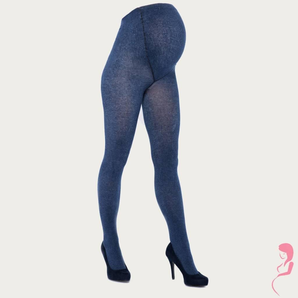 Lida Zwangerschapspanty Positiepanty 300 Den Jeans Blauw