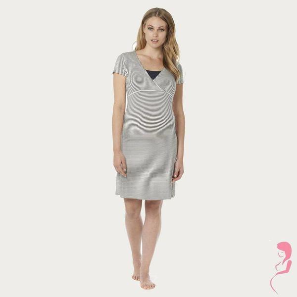 Noppies Zwangerschapspyjama NachtJapon / Voedingsjurk Susa