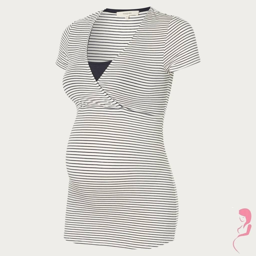 Noppies Zwangerschapspyjama Top - Voedingsshirt Dolores