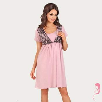 Lupoline Voedingsshirt Black and Pink