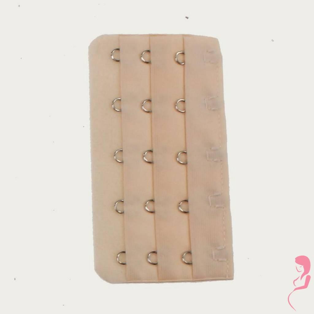Op en Top Zwanger Beha - Corset Verlenger 5 Haaks Huidskleur (per stuk)