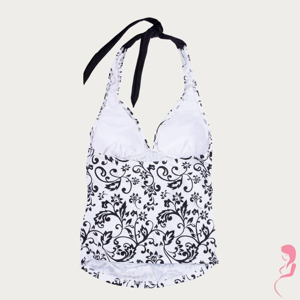 Petit Amour ZwangerschapsTankinitop Black/White