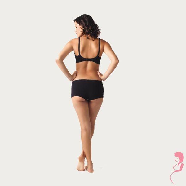 Cache Coeur Shorts Illusion Zwart