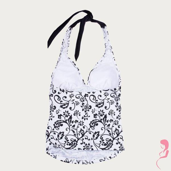 Petit Amour ZwangerschapsTankini Black/White MaxiCup