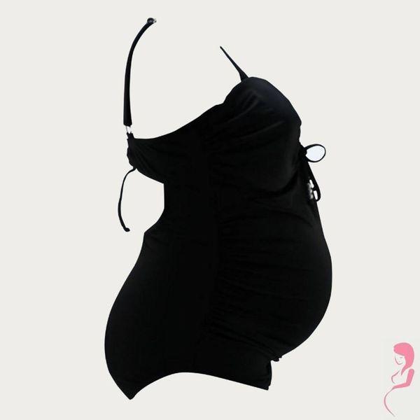 Petit Amour ZwangerschapsBadpak / PositieBadpak Camerona Black MaxiCup Plus