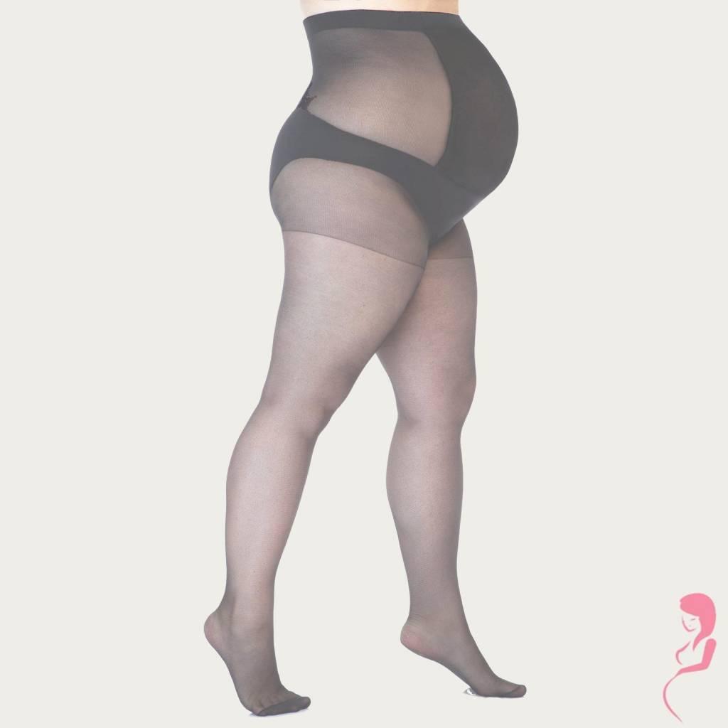 Lida Zwangerschapspanty Positiepanty Plussize 17 Den Grijs