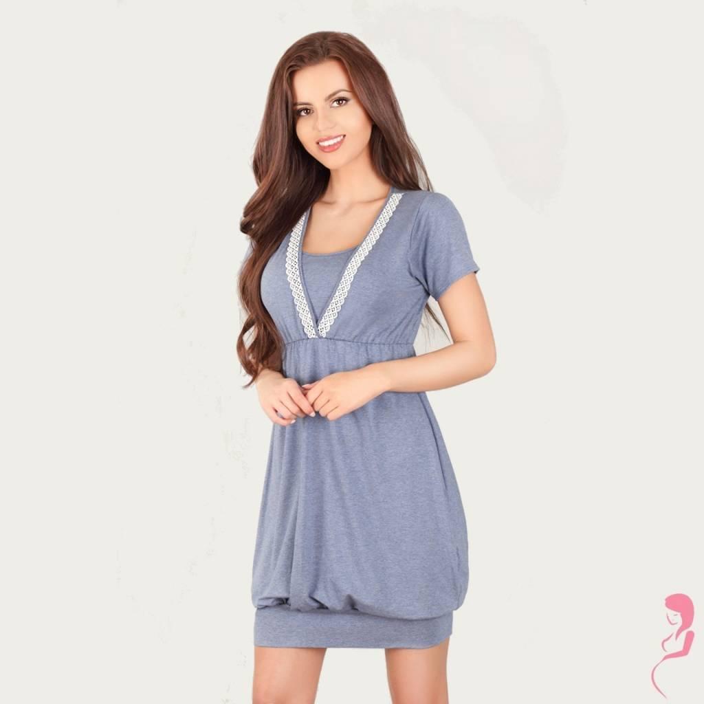 Lupoline Voedingsshirt - Zwangerschapsshirt Dark Blue