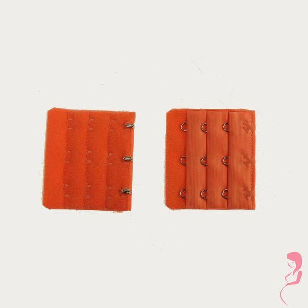 Op en Top Zwanger bh Verlengstuk / Verlenger 3 Haaks Oranje (per stuk)