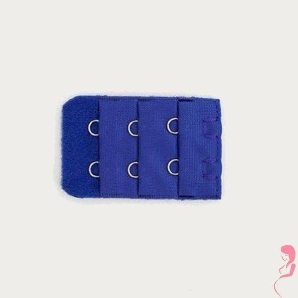 Op en Top Zwanger Beha Verlengstuk / Verlenger 2 Haaks Donkerblauw (per stuk)