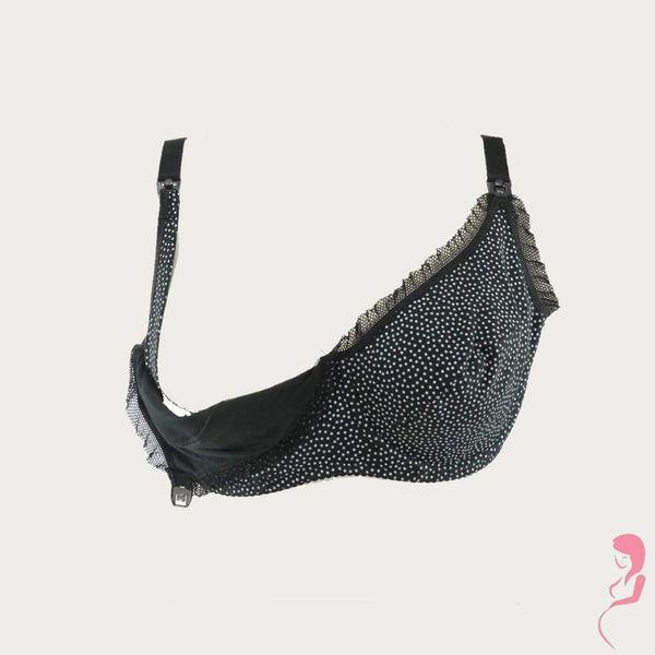 BB (Benefit) Zwangerschapsbh / Voedingsbh Mama Dots Zwart