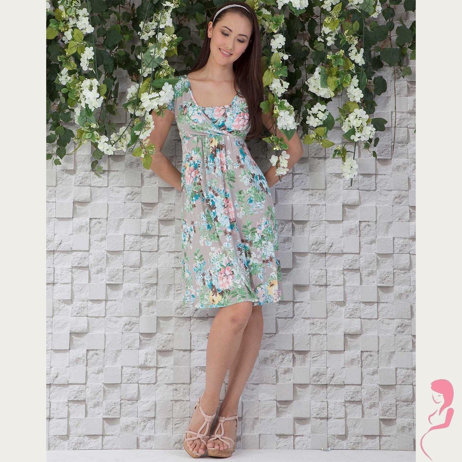 Zwangerschapsjurk Wrap dress tara
