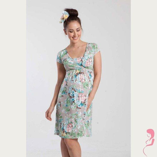 Mothers en Voque Zwangerschapsjurk Voedingsjurk Tara Floral