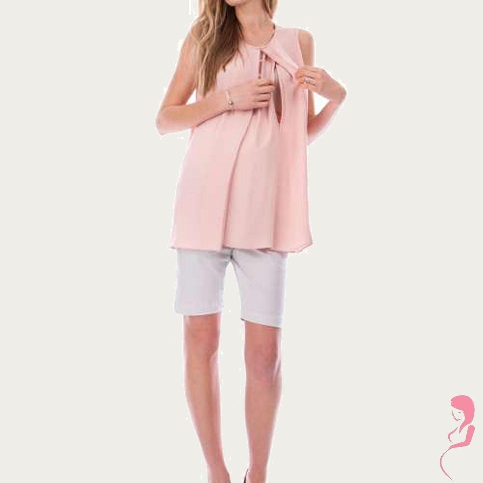 Zwangerschapsshirt Positieshirt Blush