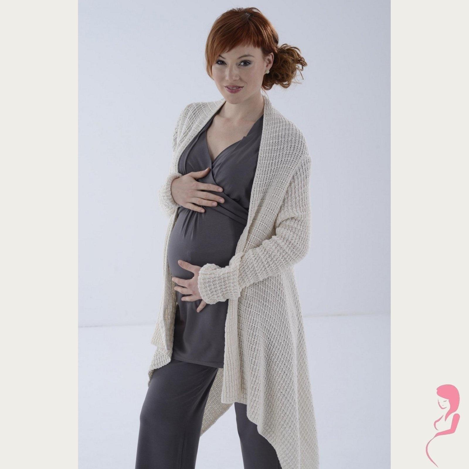 Zwangerschapstuniek Voedingstuniek Home wear.