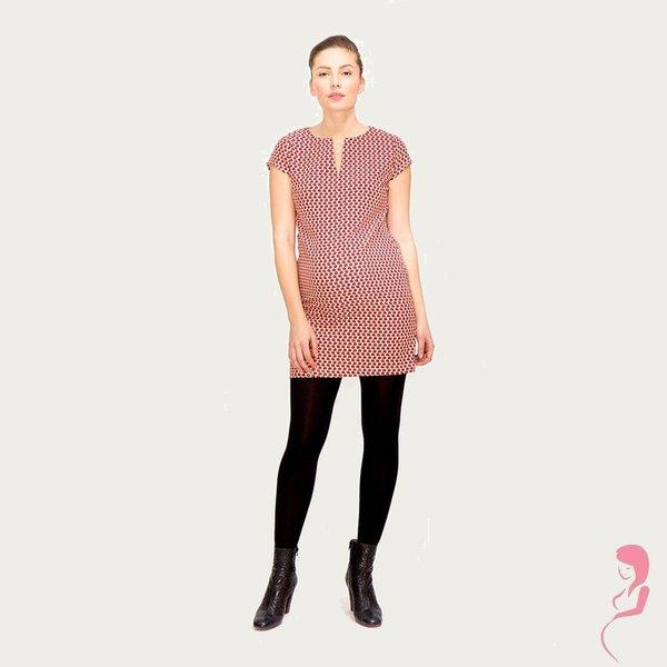 Fragile Zwangerschapsjurkje Positiejurkje  Pink Dots