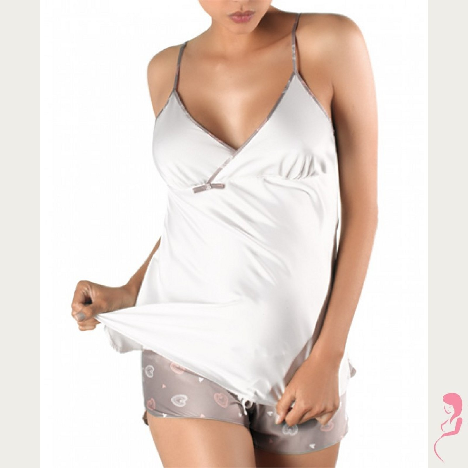 Cache Coeur Pyjama set
