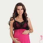 Lupoline Zwangerschapsjurk / Voedingsjurk Sexy Fucsia