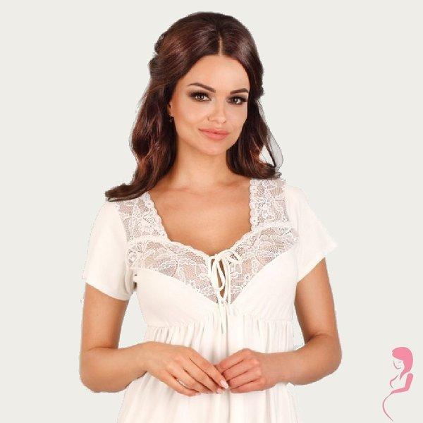 Lupoline Zwangerschapsjurk / Voedingsjurk Snowy White